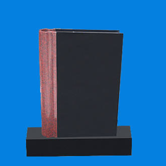 Closed Book with Coloured Spine